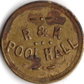 Ely Nevada Merchant Pool Hall Good For Trade Token photo