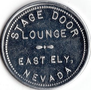 East Ely Nevada Merchant Lounge Good For Trade Token photo