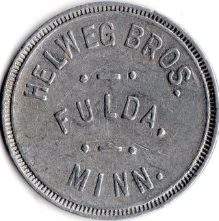 Fulda Minnesota Merchant Good For Trade Token photo