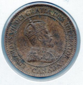 Hi Grade 1904 Canada Large Cent With In The Usa photo