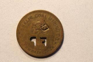 Scrip - Token - 50 Cents - Franklin Coal Mining - Powhatan Alabama photo