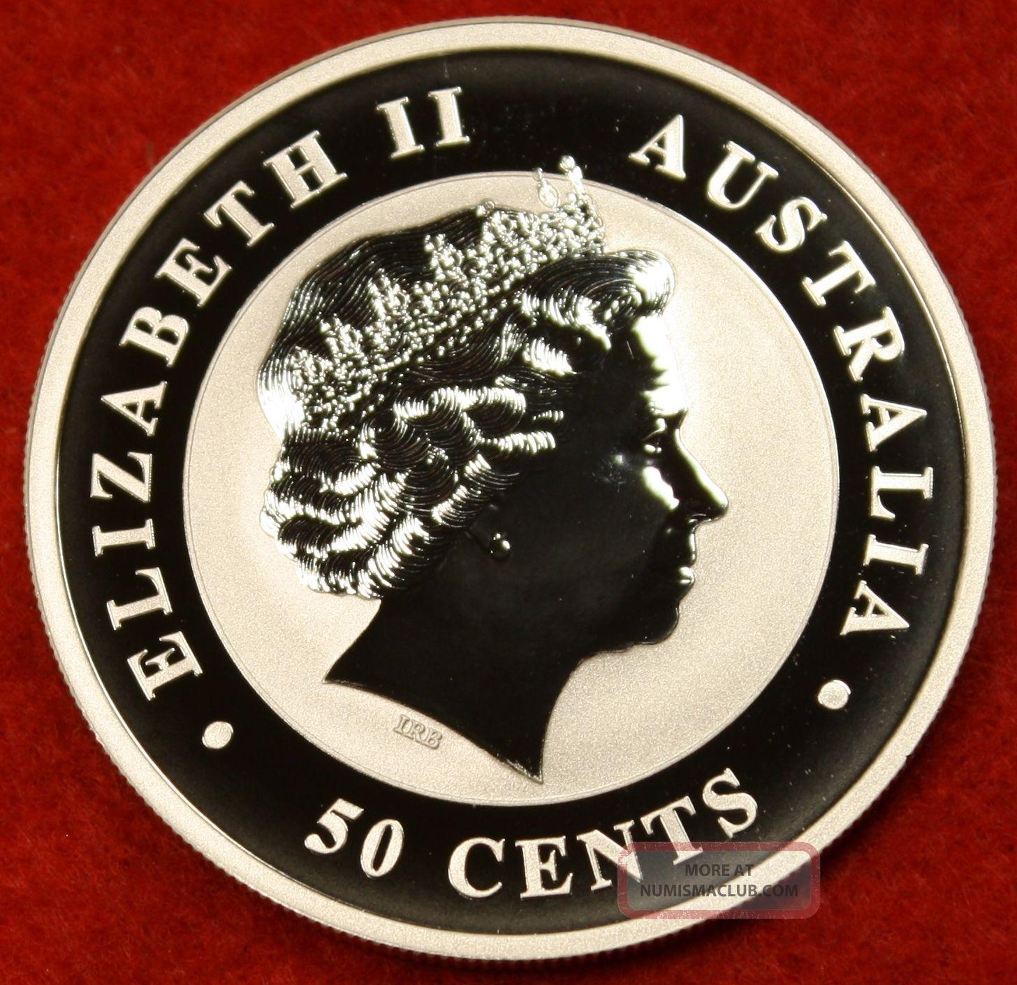 2012 Australian Koala - 1/2 Oz. Fine Silver