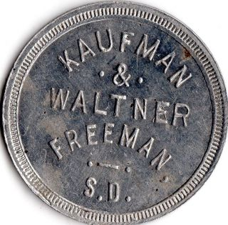 Freeman South Dakota Merchant Good For Trade Token photo