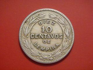 Honduras 10 Centavos,  1951 photo