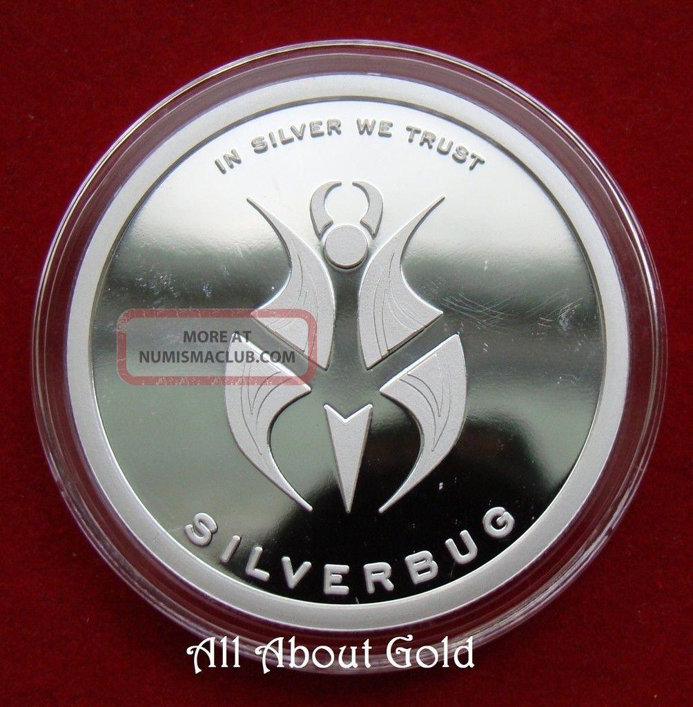Solid Silver Round 1 Troy Oz 2015 Silverbug Reddit