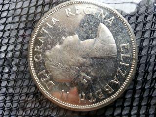 1963 Canada Silver Dollar,  Ms62 photo