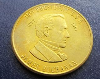 James Buchanan 15th Us President