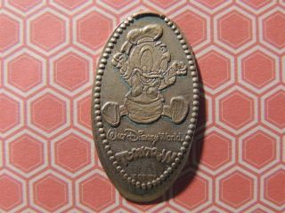 Elongated Penny Disney - Mk0096z - Baby Donald Duck Toontown - Retired photo
