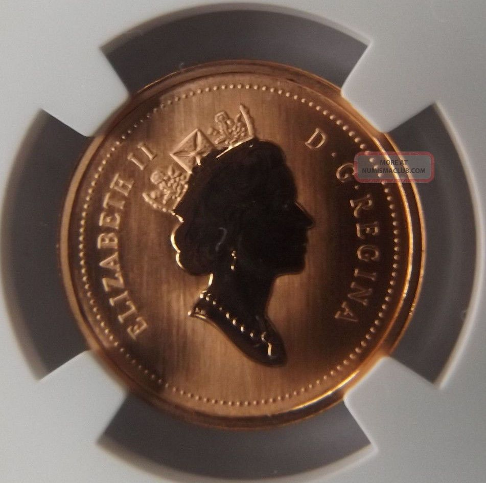 2000 Canada One Cent Ngc Sp67 Rd Frosted Penny Frosted