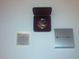 1995 Canada $1 One Dollar Silver Proof 325th Hudson ' S Bay Company Coin Unc Box photo