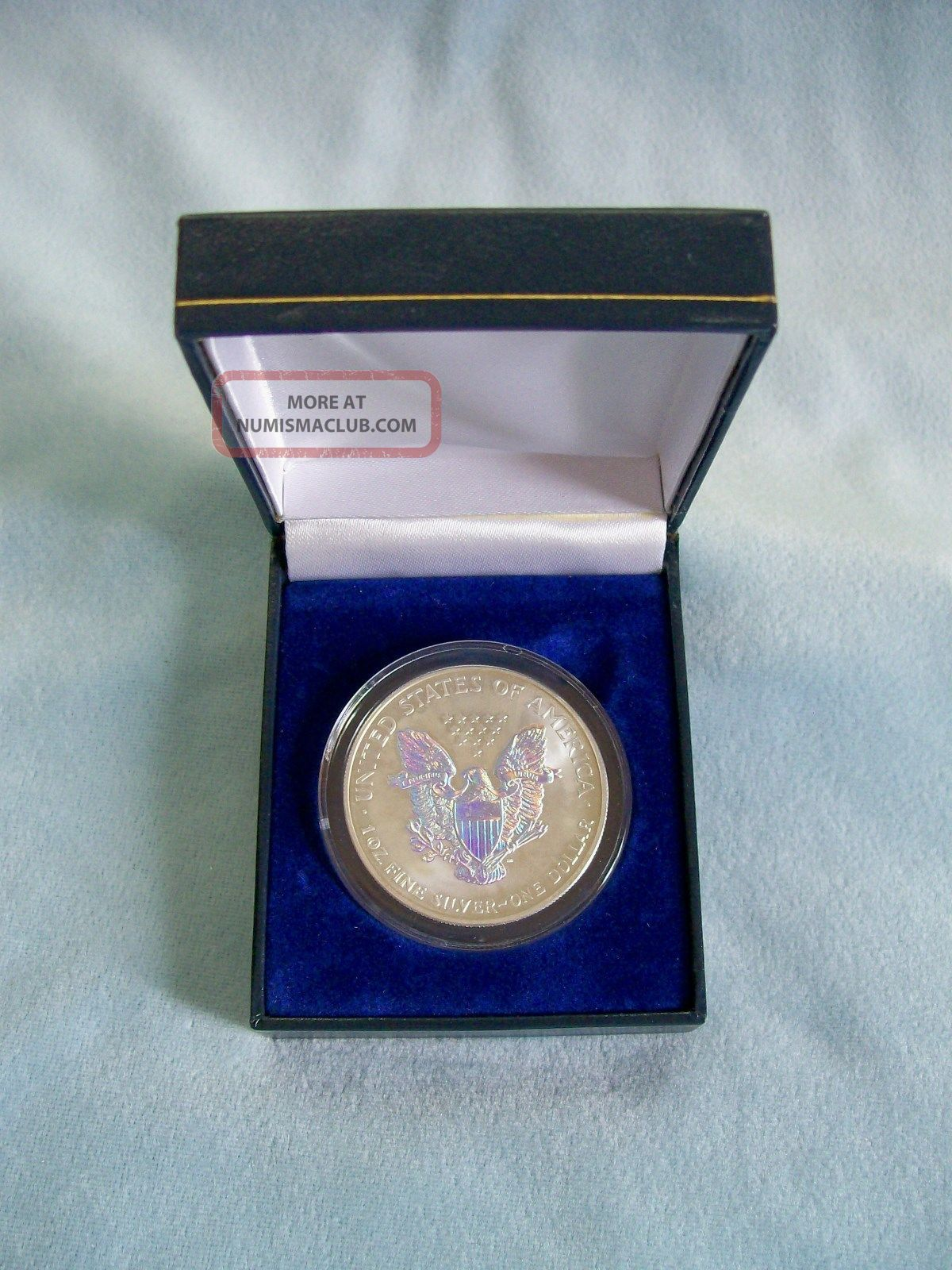 2003 Hologram American Silver Eagle Walking Liberty One
