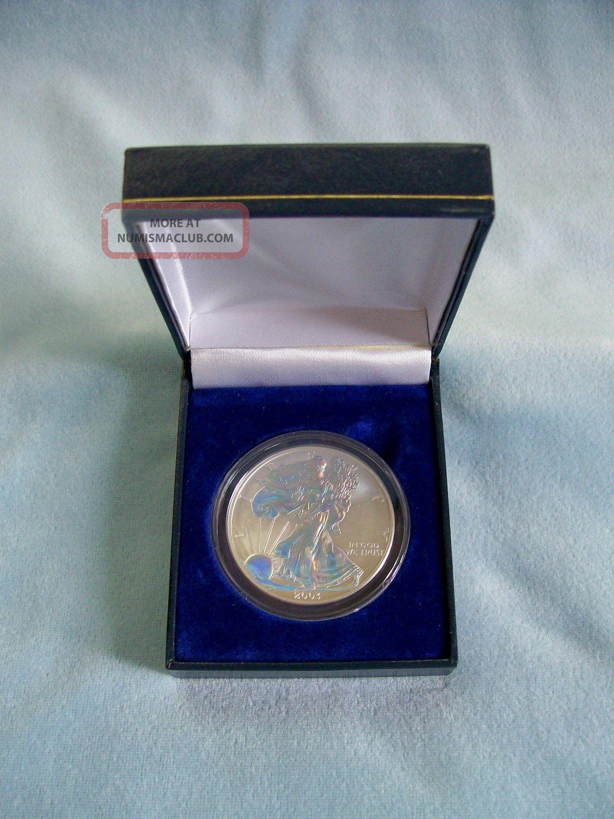 2003 Hologram American Silver Eagle Walking Liberty One