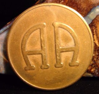 Alcoholics Anonymous Aa Recovery Sobriety Bronze Medallion Chip Coin Token Cz photo