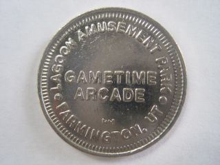 Lagoon Amusement Park Farmington Utah Token Coin photo