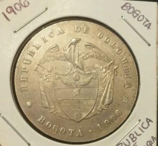 Rare Find 1906 Bogota Medal