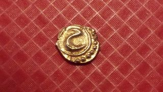 India Mysore Ad 1782 - 1799 Gold Fanam - Tipu Sultan - Unc Coin Stk T1 photo