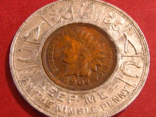 1904 I Am The Nimble Penny photo