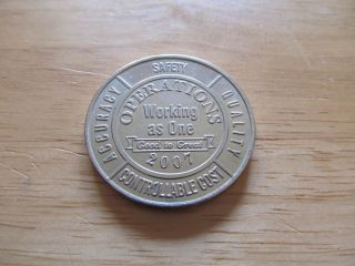 Franz Family Bakery 2007 Sales & Operations Coin Medallion Token photo