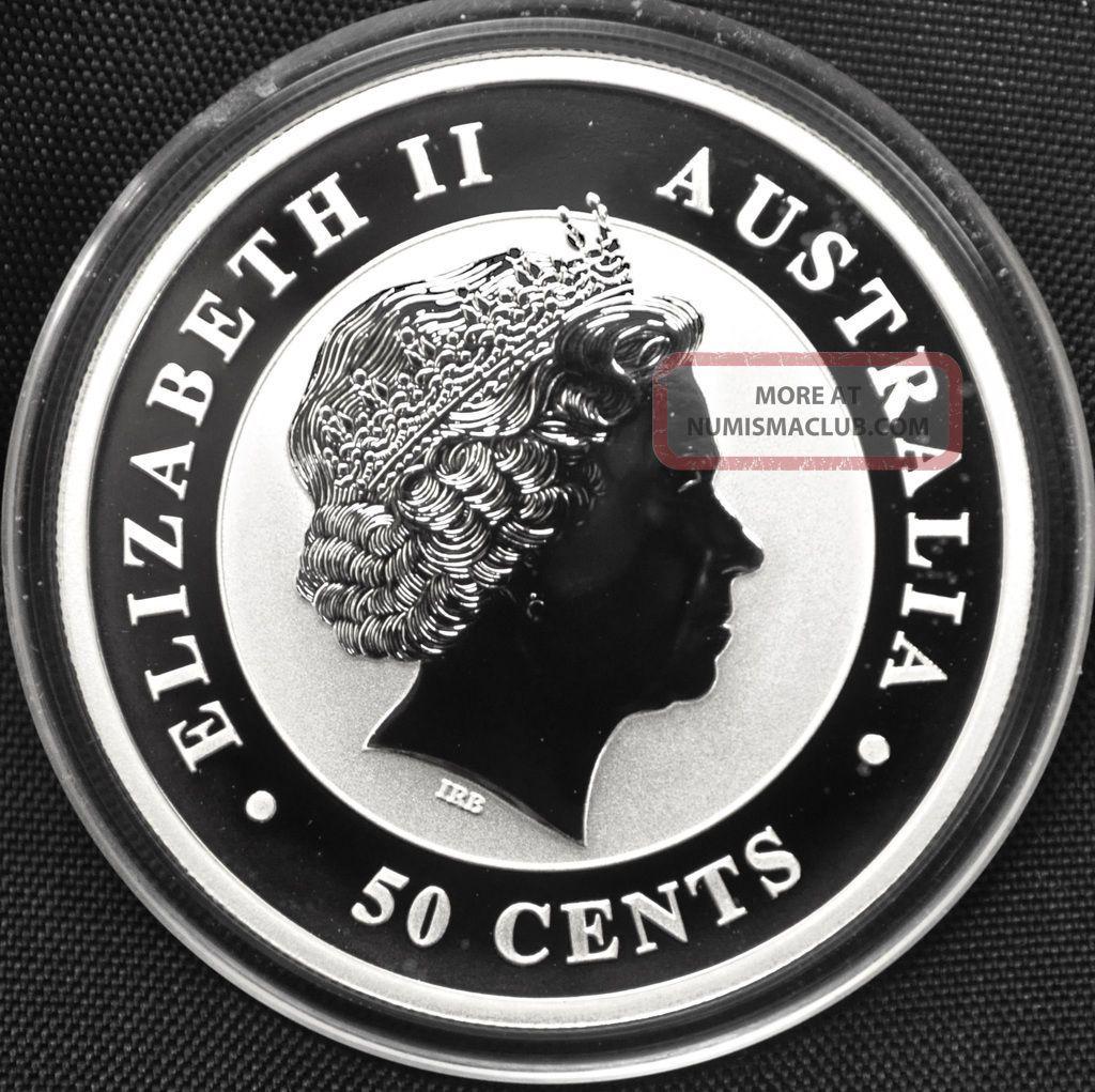 2013 Australian 1 Oz. .999 Fine Silver Koala Bullion Round