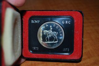 1973 S$1 R.  C.  M.  P.  (proof) Canada Dollar photo