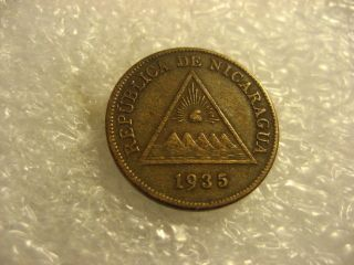 Coin Nicaragua 1935 1 Centavo photo