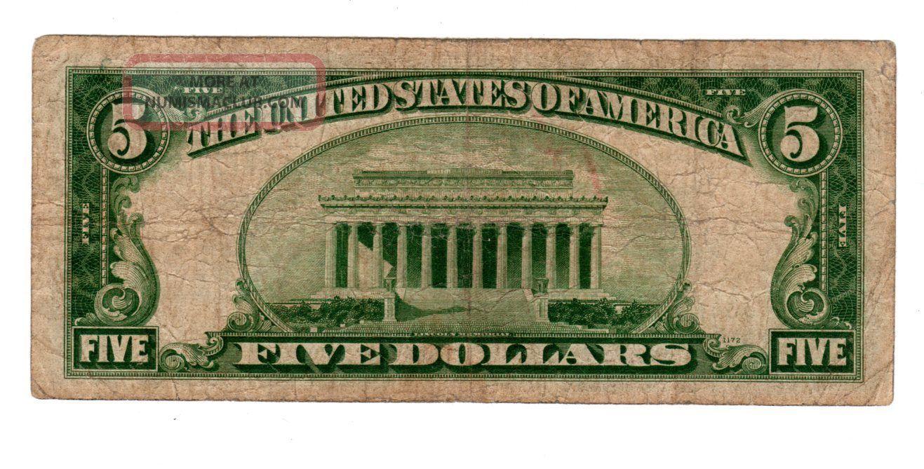 certificate dollar 1934 states united enlarge