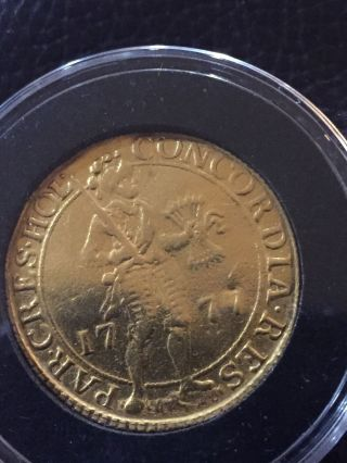 1777 Gold 2 Ducat Netherland photo
