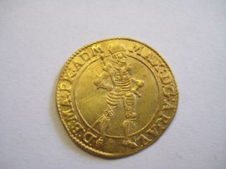 Austria Maximilian Iii Archduke 1595 - 1618 Gold Ducat Holy Roman Empire photo