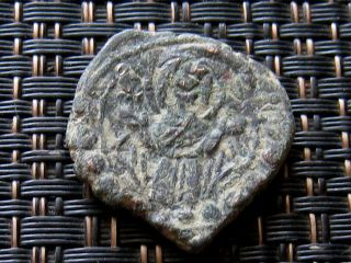 Alexius I 1081 - 1118ad Ae Class K Anonymous Follis Constantinople. photo