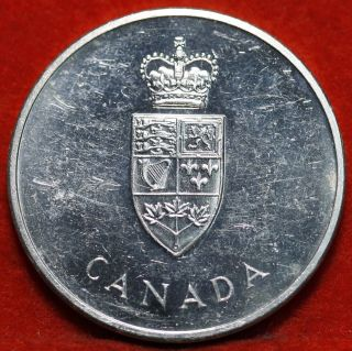 Uncirculated 1967 Canada Confederation Silver Foreign Coin S/h photo