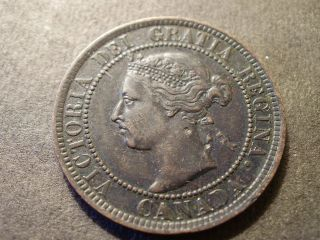 1900h Canada Large Cent - Sh Canada Is 1.  50 photo