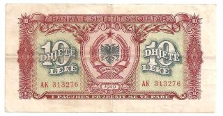 Albania 10 Leke 1949 F photo