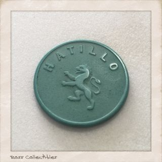 Costa Rica Coffee Token Mariano Montealegre Gallegos - Hatillo - photo