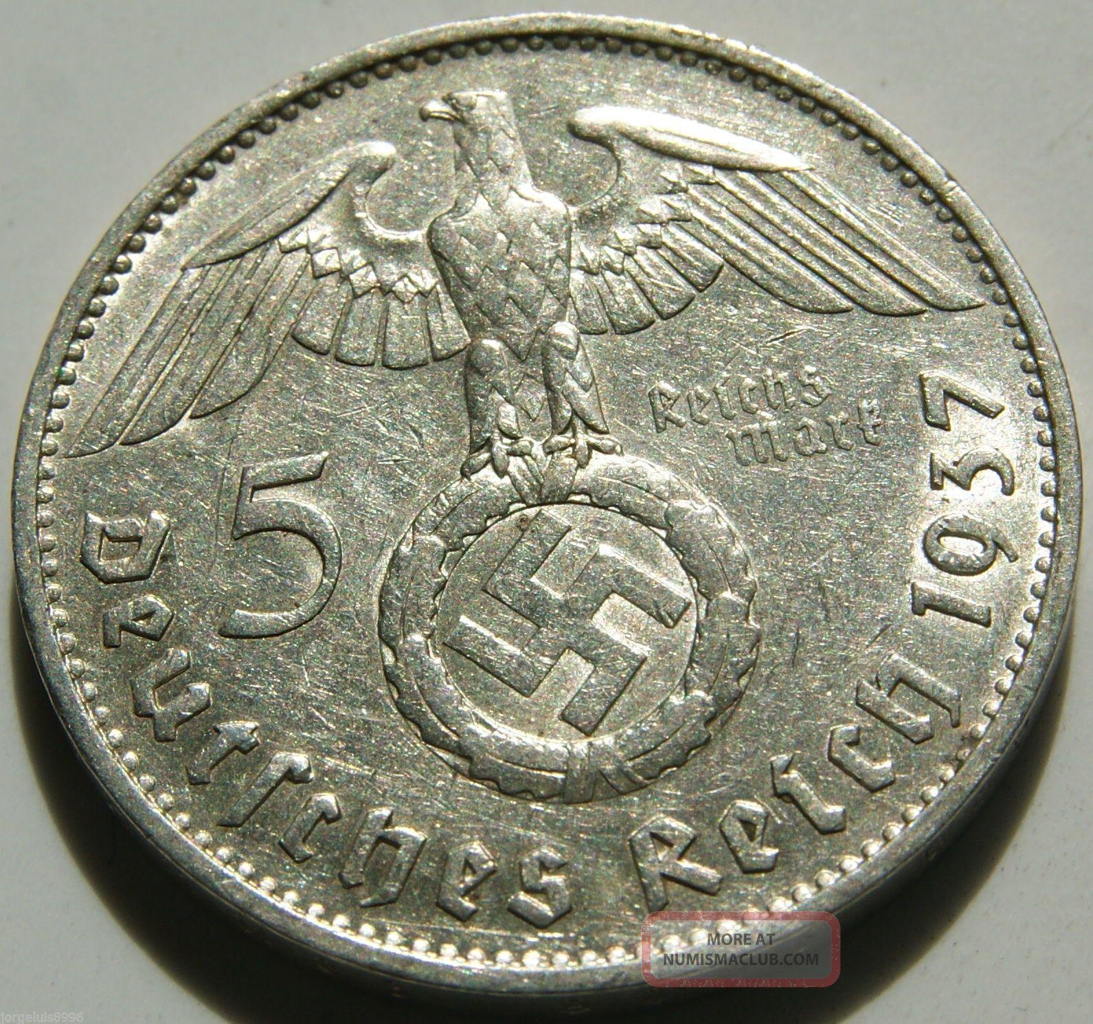 nazi coin value