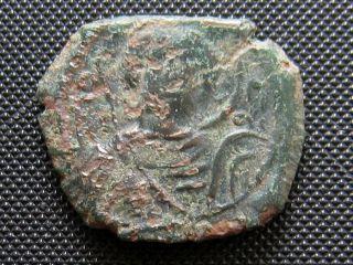 John Ii 1118 - 1143 Ad Ae Half - Tetarteron Byzantine Bronze Coin photo