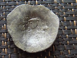 John Ii 1118 - 1143 Ad Billon Trachy Constantinople Ancient Byzantine Coin photo