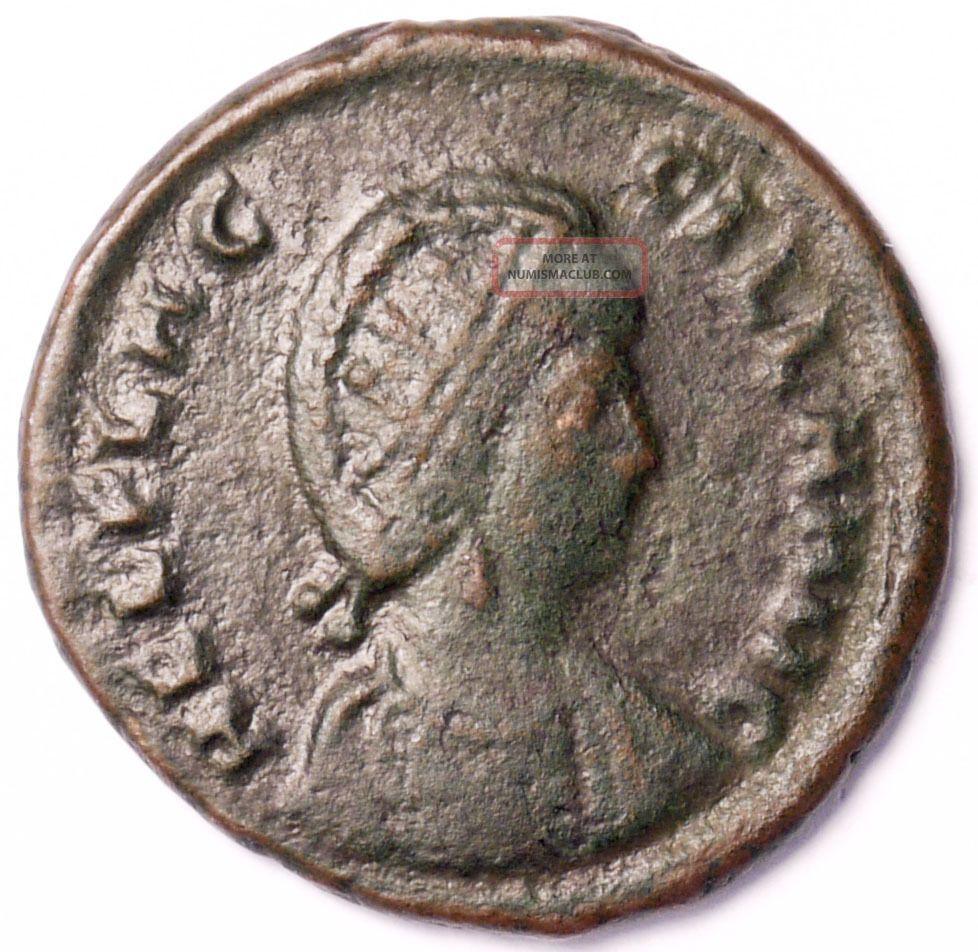 Aelia Flaccilla.  Ae2.  (cyzicus) Coins: Ancient photo