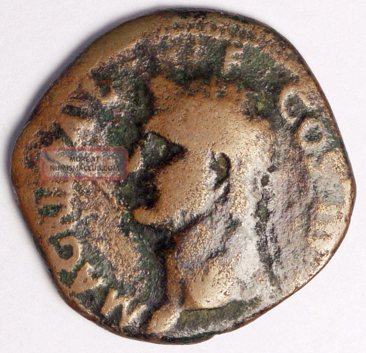 Agrippa Ae As Coins: Ancient photo