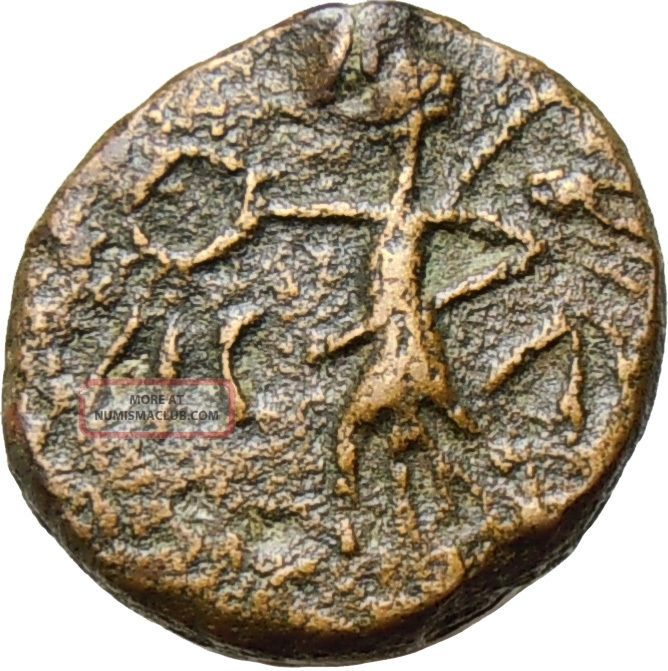 Celts Imitating Philippi In Macedonia Victory Ancient Rare Bronze Greek Coin Coins: Ancient photo