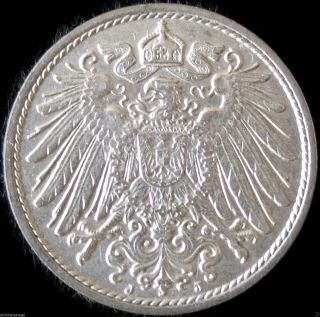 German Empire 1913j 10 Pfennig Coin - Great Coin - Combine S&h photo