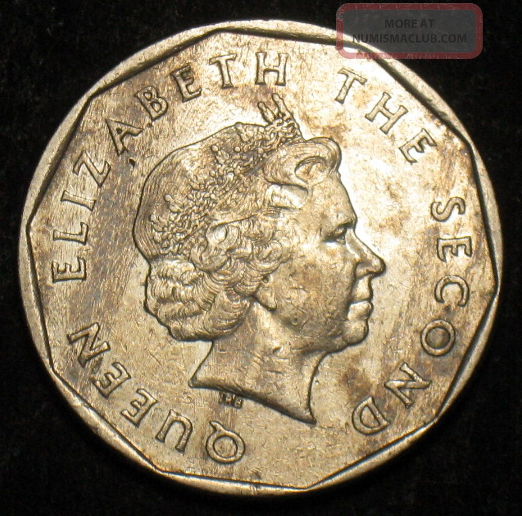 East Caribbean States 1 Dollar Coin 2004 Km 39 Sailing Ship