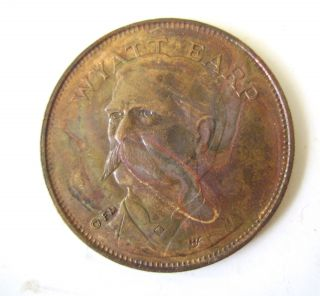 Wyatt Earp Token U.  S.  Deputy Marshall photo