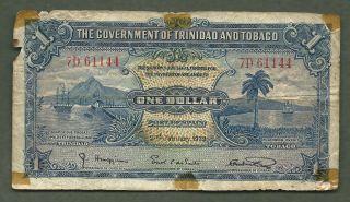Trinidad And Tobago 1939 $1 1144 photo