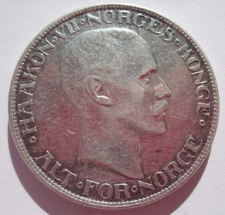 Norway 2 Kroner 1913 photo