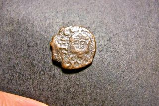 Theophilus,  Father/sons,  Syracuse,  Sicily Ca 840 Ad,  Ancient Byzantine Coin photo