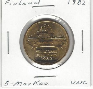 Finland 5 Markkaa,  1982 photo