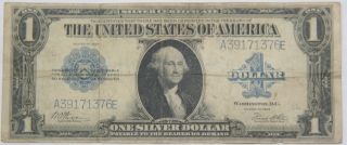 1923 Us $1 Silver Certificate Large Size Note photo