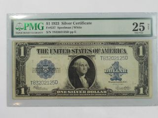 Coinhunters - 1923 Large $1 Silver Certificate - Pmg Vf 25 Net photo