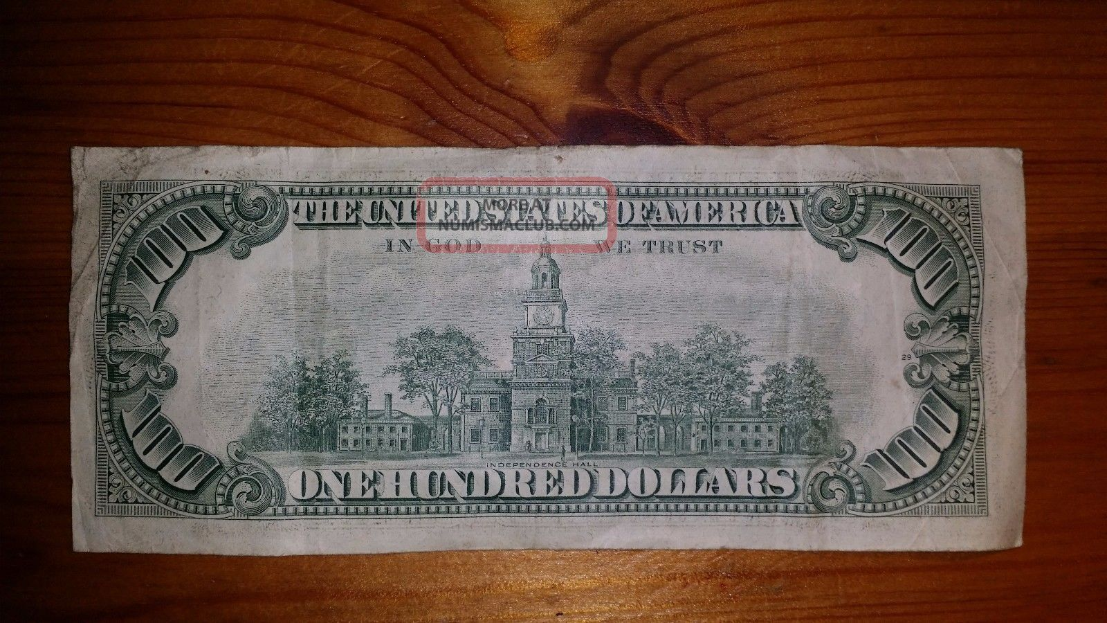1974 $100 One Hundred Dollar Bill Federal Reserve Note
