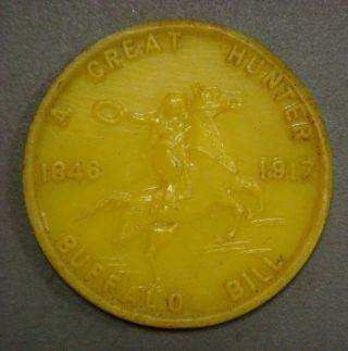 American Hero Play Coin,  5,  Buffalo Bill,  Great Hunter 1846 - 1917 photo
